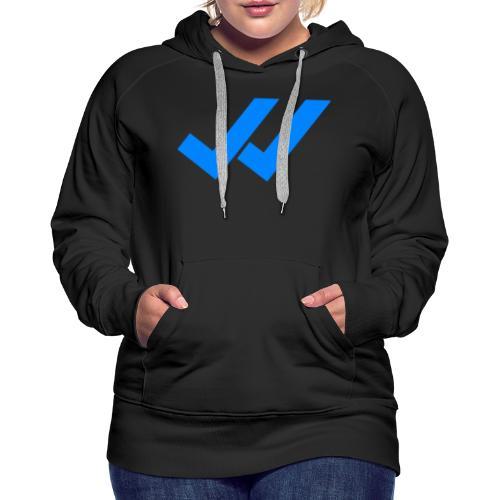 vu whatsapp - Sweat-shirt à capuche Premium pour femmes