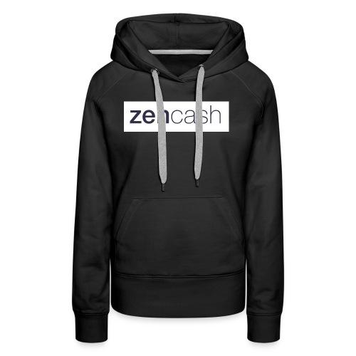 ZenCash CMYK_Horiz - Full - Women's Premium Hoodie