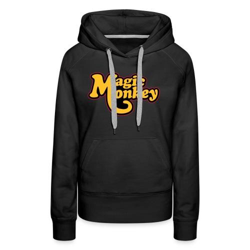 magicmonkeyclassic - Sweat-shirt à capuche Premium pour femmes