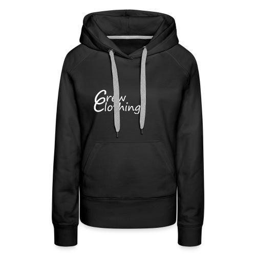 CCrewClothingweiß png - Frauen Premium Hoodie