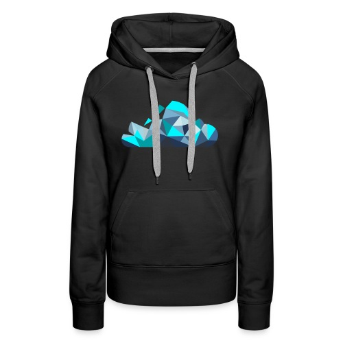 'CLOUD' Mens T-Shirt - Women's Premium Hoodie