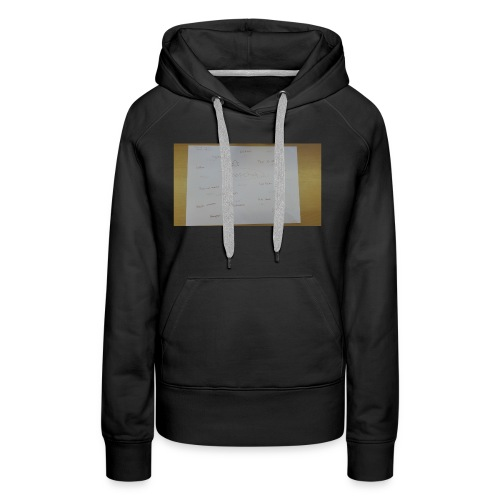 a3 - Vrouwen Premium hoodie