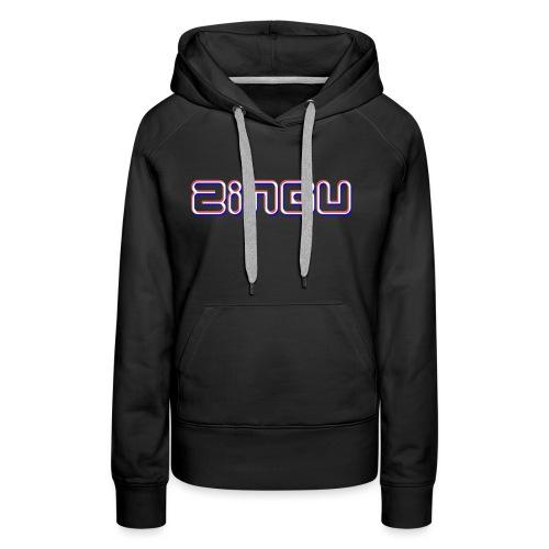 Mens T-Shirt ( Zingu Logo ) - Women's Premium Hoodie
