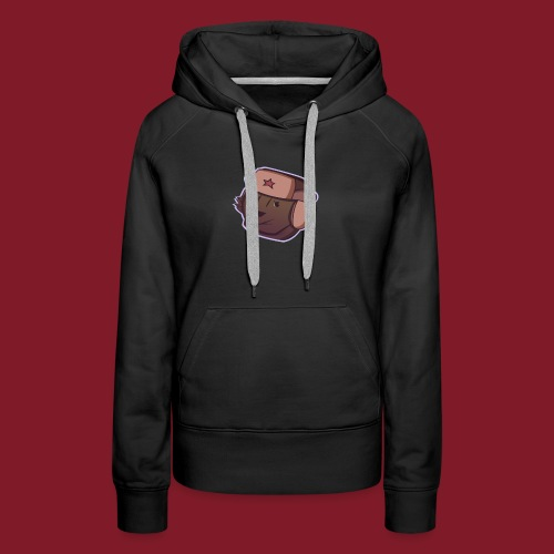 Russian Bear - Sweat-shirt à capuche Premium pour femmes