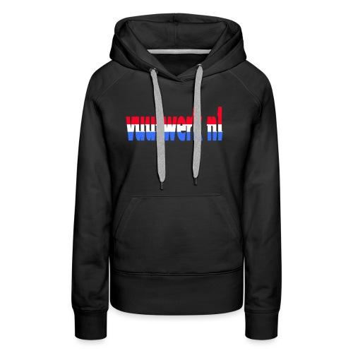 vuurwerk nl fan kleding - Vrouwen Premium hoodie