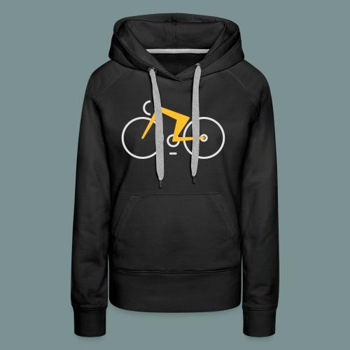 Bikes against cancer - Dame Premium hættetrøje