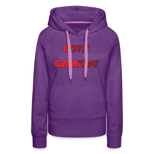 Cote Sweater Rode Letters - Women's Premium Hoodie