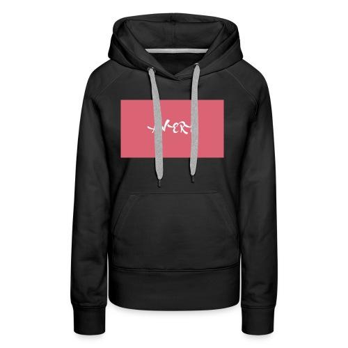 rouge - Sweat-shirt à capuche Premium pour femmes