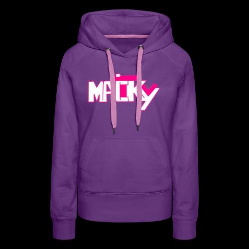 MaickyTv Pink - Frauen Premium Hoodie