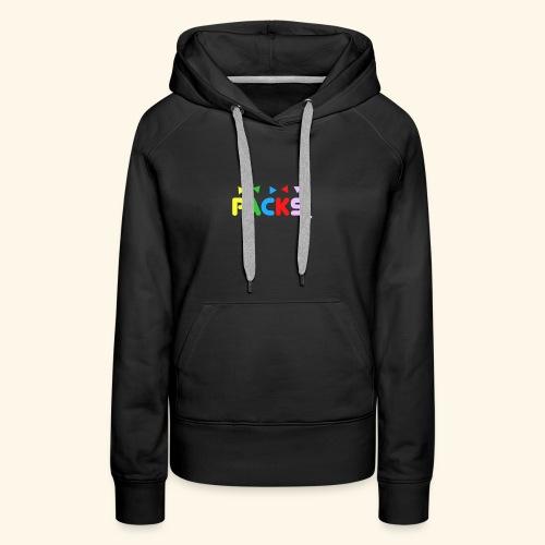 PACKSwear Logo Hoodie - Dame Premium hættetrøje