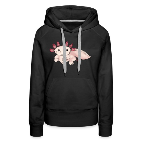 Axenia Axolotl - Frauen Premium Hoodie