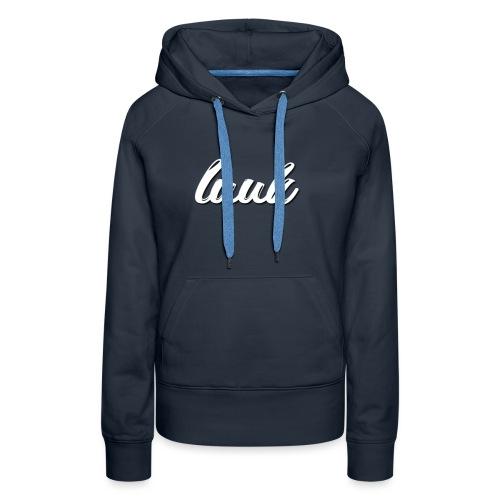 Luuk Logo - Vrouwen Premium hoodie