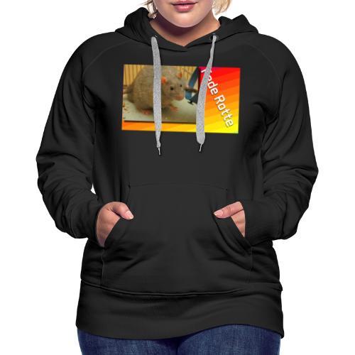 Fede Rotte - Dame Premium hættetrøje