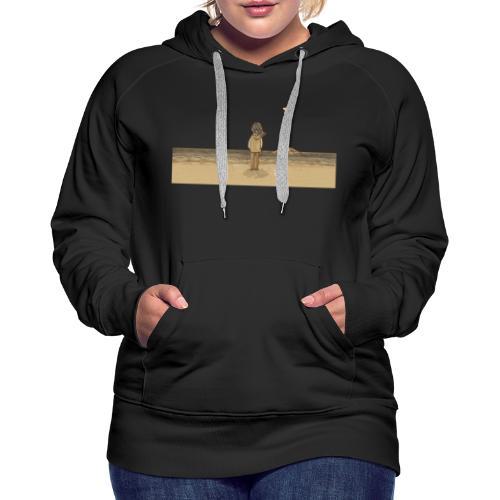 océan - Sweat-shirt à capuche Premium pour femmes