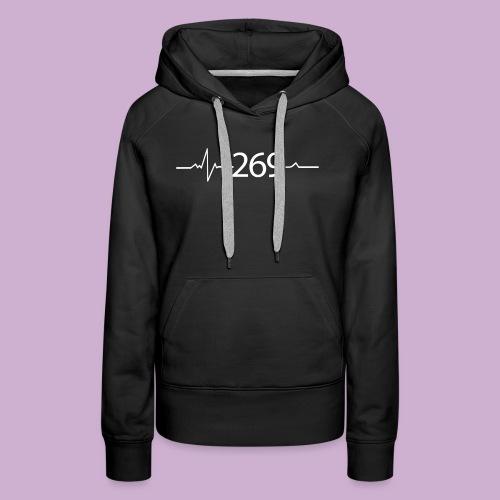 269 - RESPEKTIERE LEBEN - Frauen Premium Hoodie