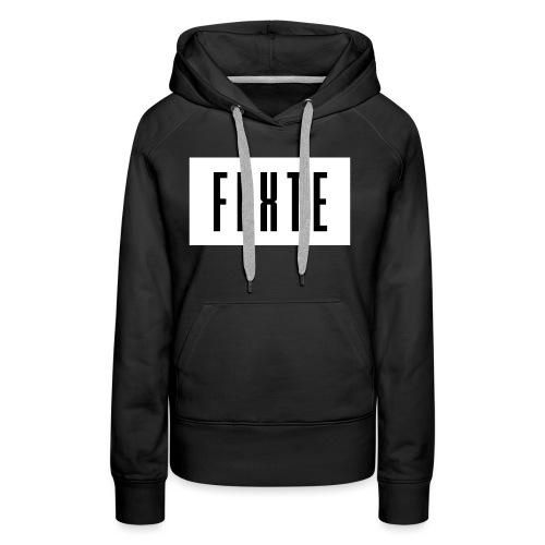 FLxTE logo - Frauen Premium Hoodie