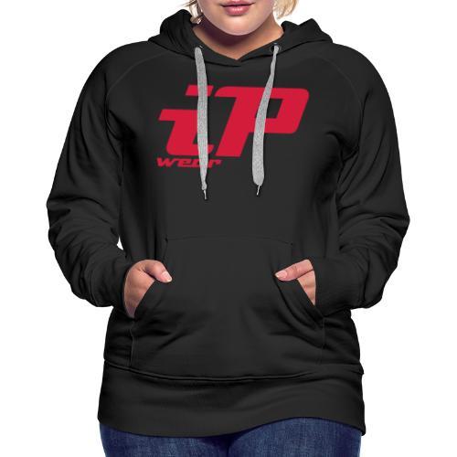 iP wear Rot - Frauen Premium Hoodie