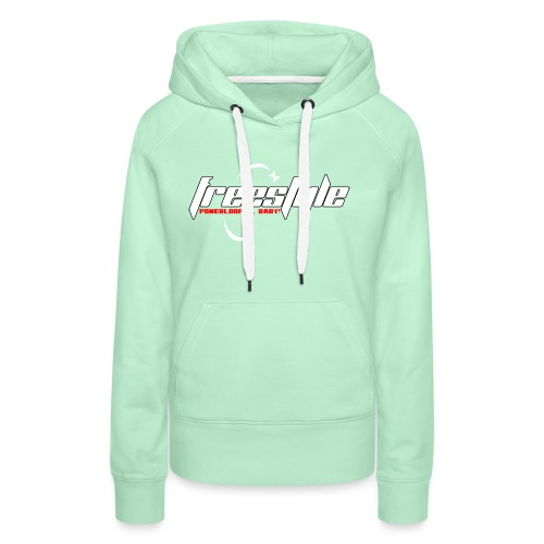 Freestyle - Powerlooping, baby! - Women's Premium Hoodie