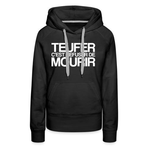 TEUFER - Sweat-shirt à capuche Premium pour femmes