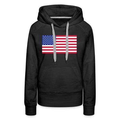 USA / United States - Vrouwen Premium hoodie