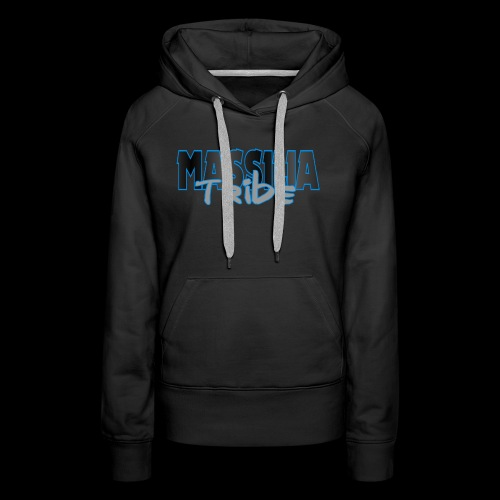 Massilia Tribe Original - Sweat-shirt à capuche Premium pour femmes