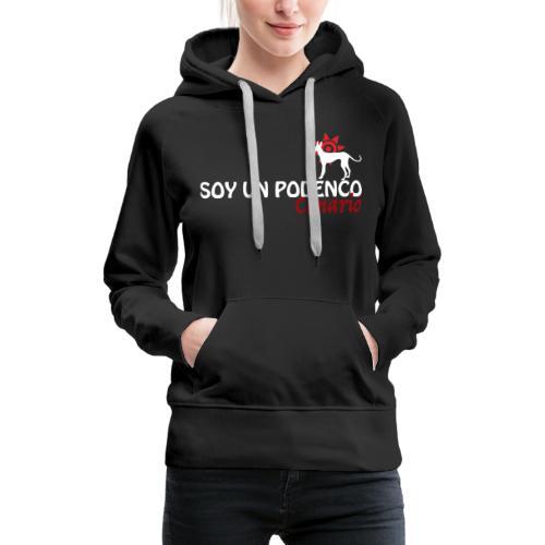 Soy on Podenco 3 - Sweat-shirt à capuche Premium pour femmes