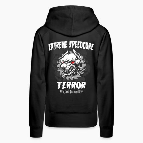 Extreme Speedcore Terror - Women's Premium Hoodie