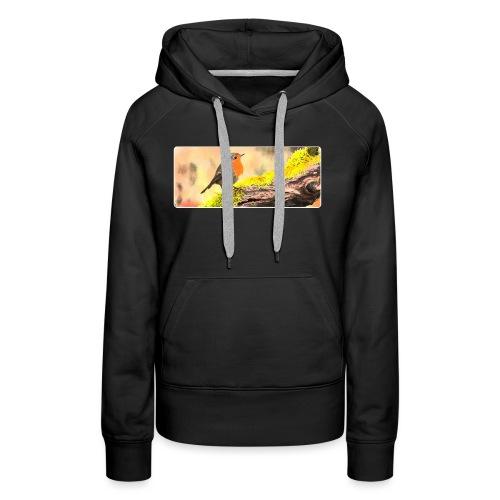 Rotkehlchen - Frauen Premium Hoodie