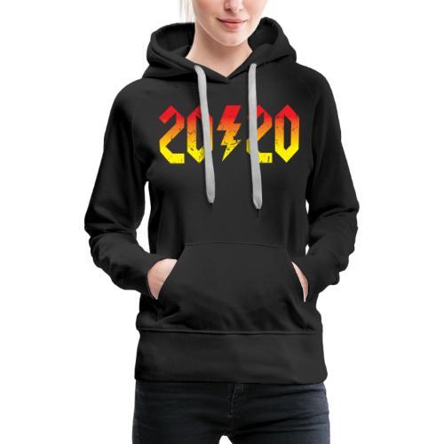 2020 rockiges Jahr - Frauen Premium Hoodie
