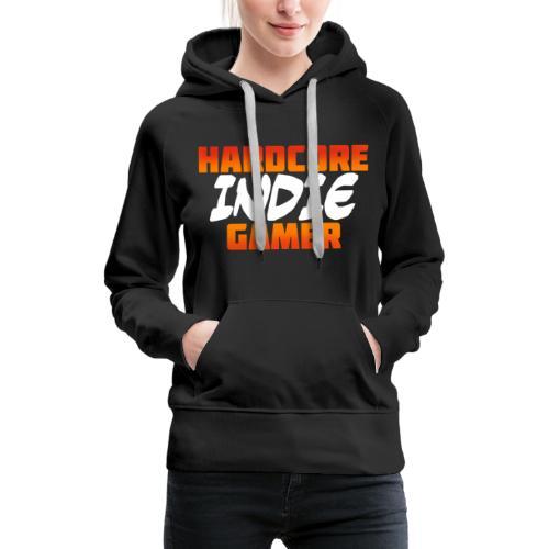 H_rdcore Indie Gamer - Frauen Premium Hoodie
