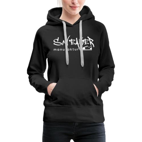 Sneakermanufaktur Linz - black edition - Frauen Premium Hoodie