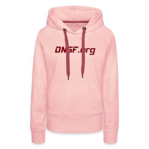 DNSF t-paita - Naisten premium-huppari