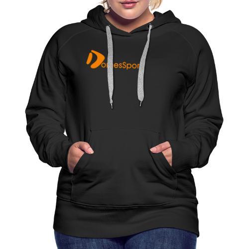 Logo DomesSport Orange noBg - Frauen Premium Hoodie