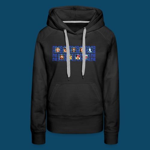 Benzaie LIVE - MUG - Sweat-shirt à capuche Premium pour femmes