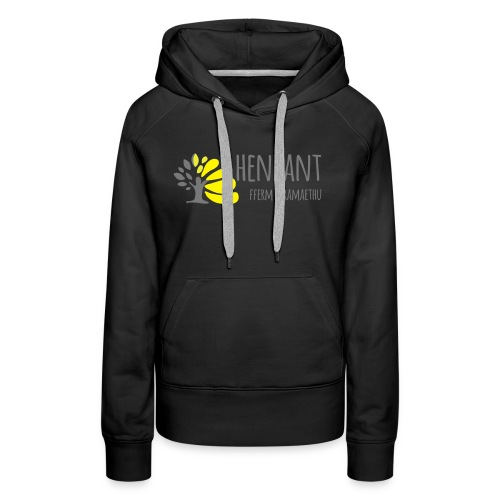 henbant logo - Women's Premium Hoodie