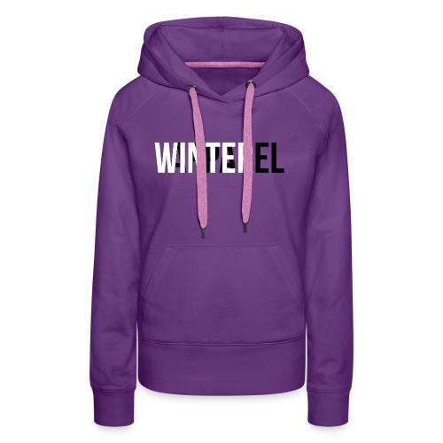Winter Apparel Logo - Dame Premium hættetrøje