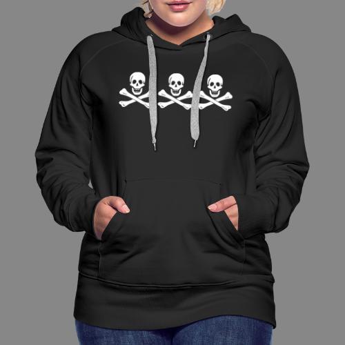 Christopher Condent Flag - Sweat-shirt à capuche Premium pour femmes