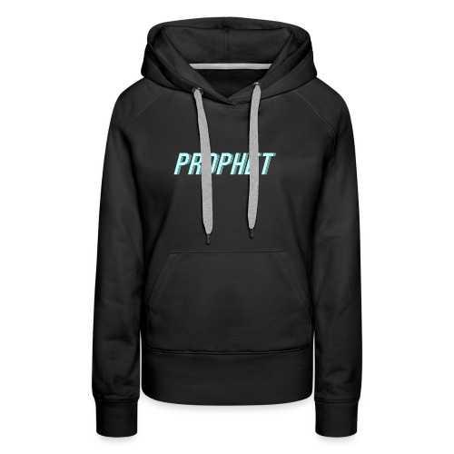 prophet_blue_scaled_smaller - Women's Premium Hoodie