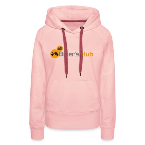 Biker's Hub Small Logo - Women's Premium Hoodie