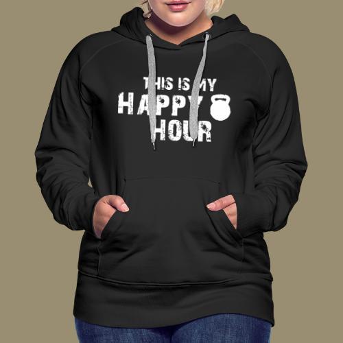 shirtsbydep happyhour - Vrouwen Premium hoodie
