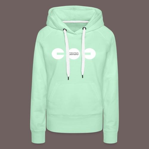 GBIGBO zjebeezjeboo - Fun - Packman 01 - Sweat-shirt à capuche Premium pour femmes