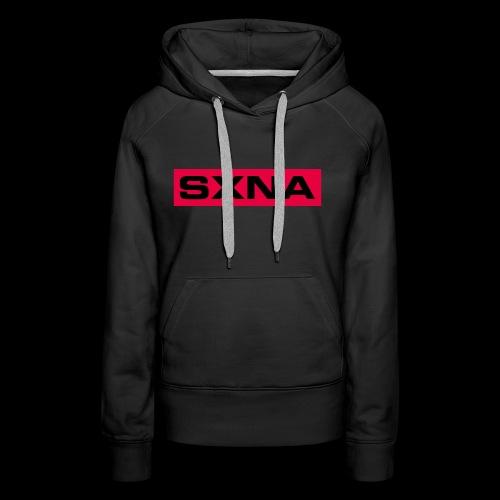 SXNA BLDBXD #PINK - Women's Premium Hoodie