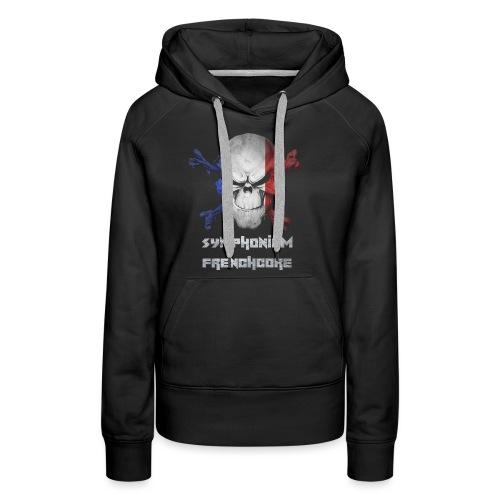 symphonium Frenchcore - Sweat-shirt à capuche Premium pour femmes