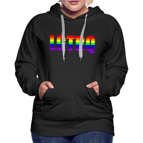 LGTBQ - Naisten premium-huppari
