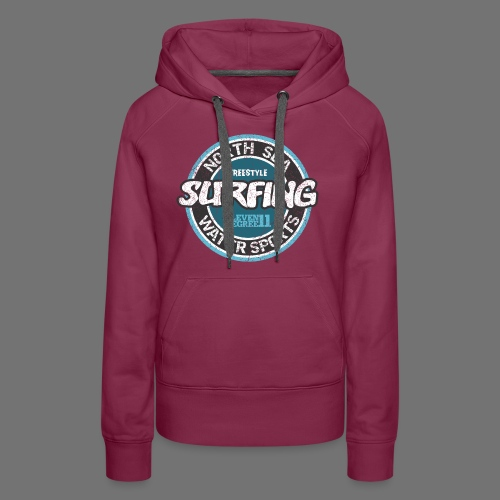 North Sea Surfing (oldstyle) - Naisten premium-huppari