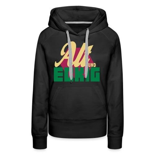 AltUndEckig-Logo - Frauen Premium Hoodie