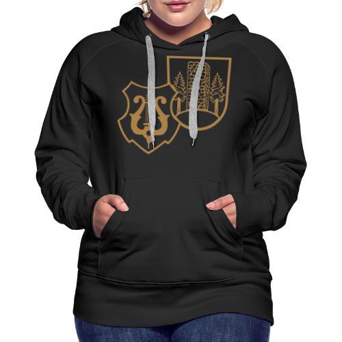 MVW Welden Logo Schwarz gross - Frauen Premium Hoodie