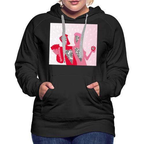 Valentine - Vrouwen Premium hoodie