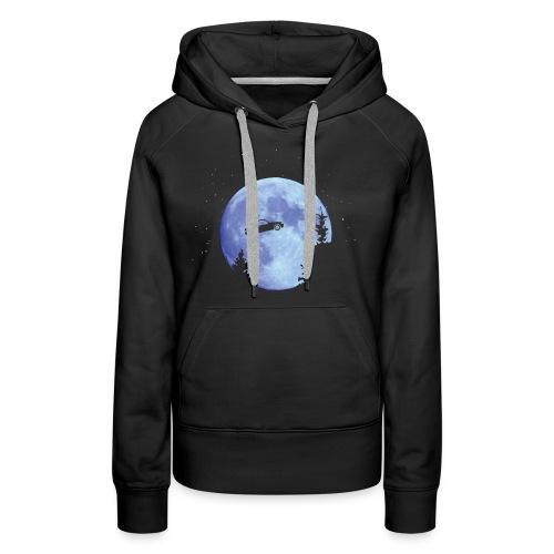 GTI l'extravoiture - Sweat-shirt à capuche Premium pour femmes