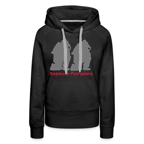 Sapeurs-pompiers - Sweat-shirt à capuche Premium pour femmes